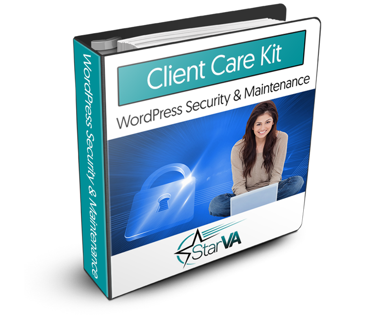WordPress Security and Maintenance Virtual Assistant Training