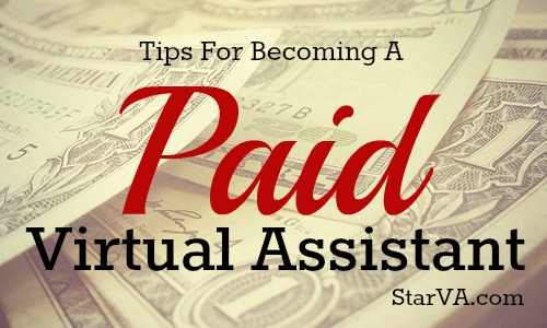 Becoming a Paid Virtual Assistant